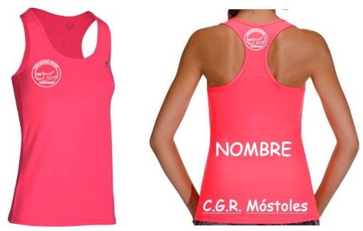 Camiseta Tirantes Rosa - 9,50€